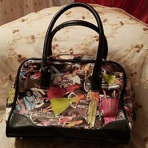 NWOT Sydney Love Retro Print Handbag
